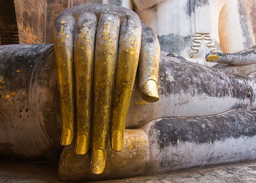 Hand van Boeddha van Johan Zwarthoed