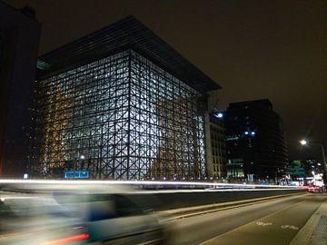 Europagebouw Brussel, België van Deborah Blanc