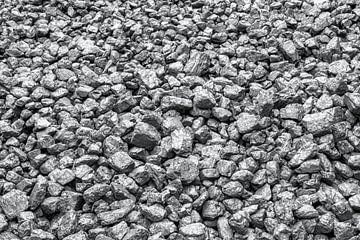 HDR kolen in B&W van W J Kok