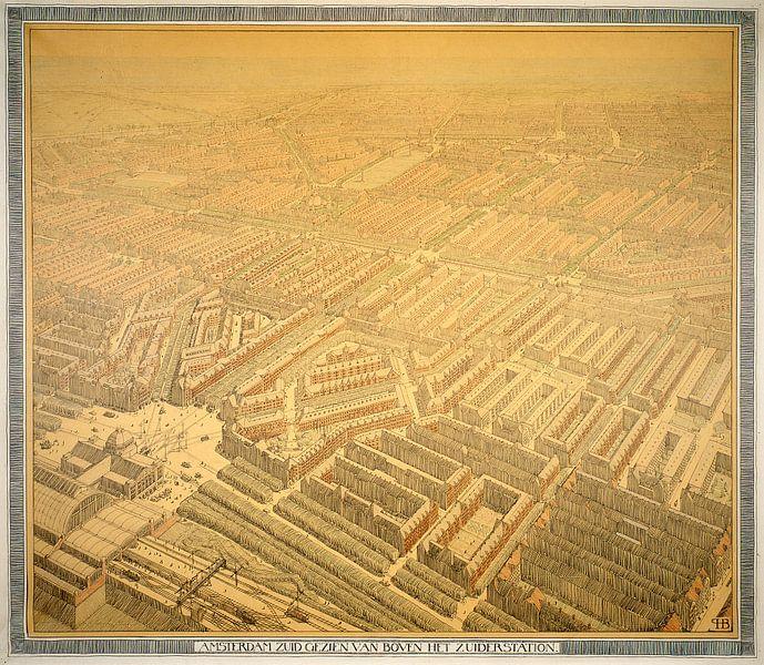 Berlage, Plan Zuid Amsterdam van 1000 Schilderijen