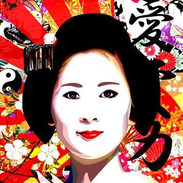 Japanisch von Jole Art (Annejole Jacobs - de Jongh)