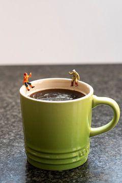 Op de koffie van Cécile den Ouden