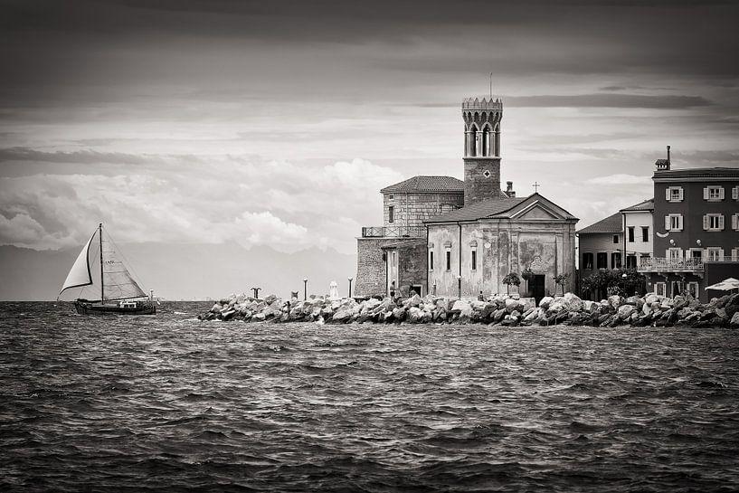 Photographie noir et blanc : Piran (Slovénie) sur Alexander Voss