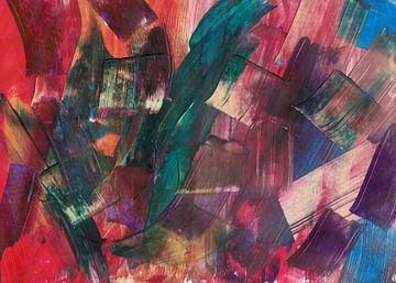 Multikleur blokken van Bethina de Reus