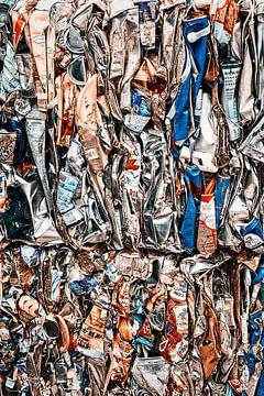 Schauen Sie sich die Recycling-Dosen an. von Aad Clemens
