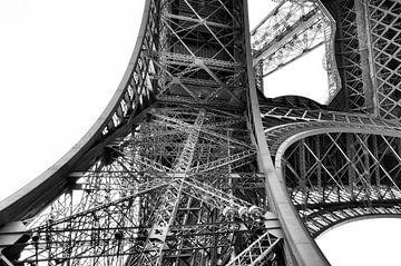 Parijs Eiffeltoren in detail 1 von Cynthia van Diggele