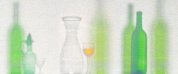 Glas op canvas van René Glas