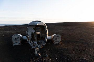 Isländisches Flugzeugwrack von Bastis photos