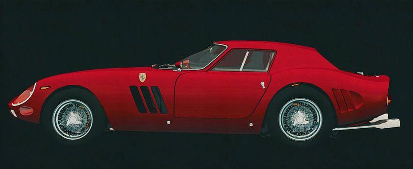 Ferrari 250 GTO 1964 zijaanzicht van Jan Keteleer