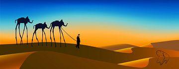 Hommage an  Salvador Dali von Harry Hadders