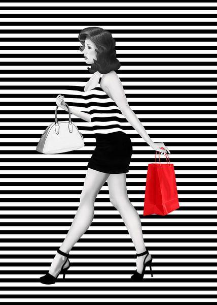 Gestreept is de mode van Monika Jüngling