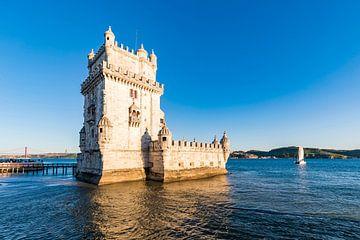 Torre de Belém in Lissabon van