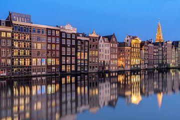 Amsterdam à l'heure bleue sur Arnaud Bertrande
