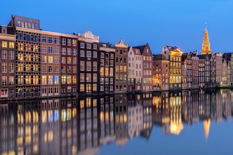 Amsterdam à l'heure bleue van Arnaud Bertrande