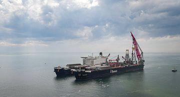 Das größte Arbeitsschiff der Welt von Percy's fotografie