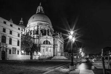 VENICE Santa Maria della Salute | Monochrome van Melanie Viola