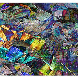 Abstractie300 van Peter Norden