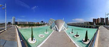 Valencia - Ciudad de las Artes y las Ciencias von Frank Herrmann