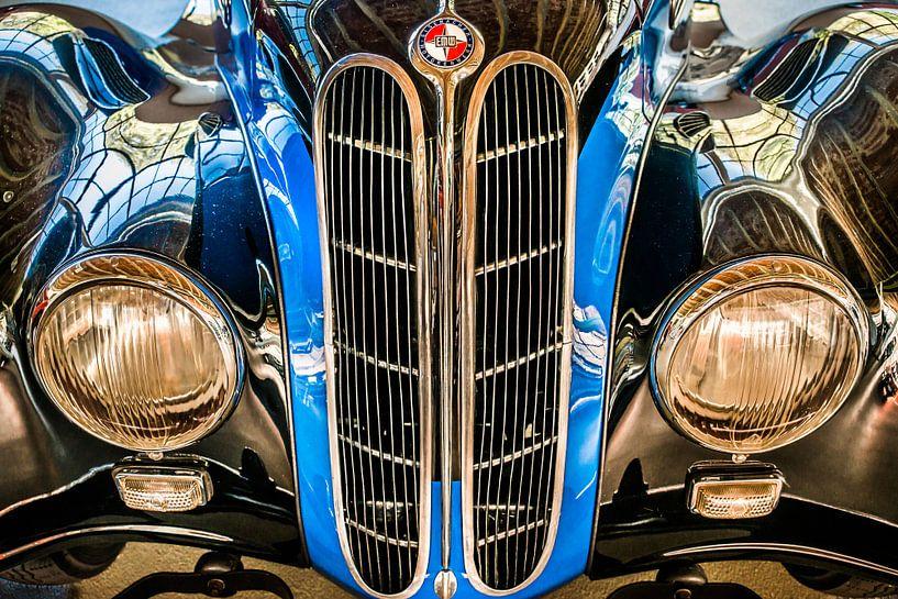 Historische auto van Harrie Muis