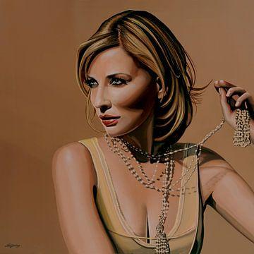 Cate Blanchett Malerei von Paul Meijering