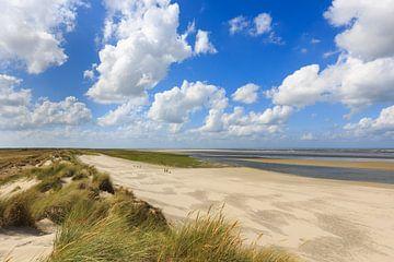 Strand Ameland, groene strand van Anja Brouwer Fotografie