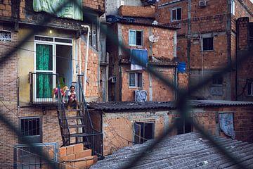 Favela Rio de Janeiro van Merijn Geurts
