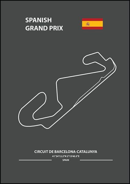 SPANISH GRAND PRIX   Formula 1 von Niels Jaeqx