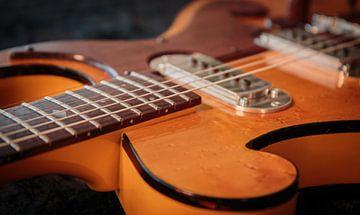 Bigsby gitaar van Annemiek van Eeden