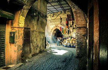 Marrakech souk van Kevin Brandau