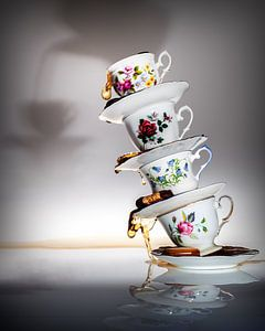 Stillleben eines hohen Tees
