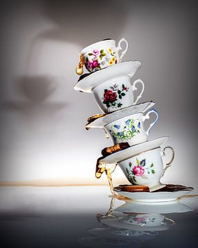 Nature morte d'un grand thé sur Dina-Artphoto