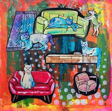 Huisdieren leven ( home story 3 ) van Ariadna de Raadt