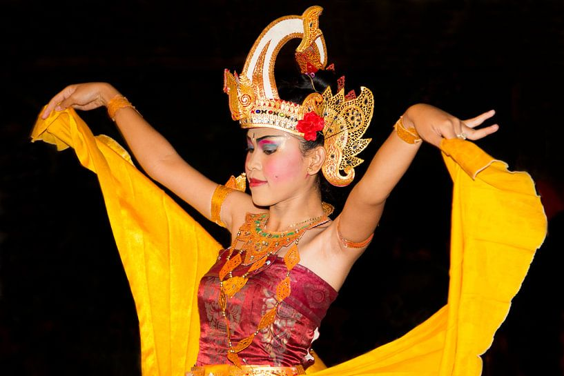 Balinese danseres van Willem Vernes