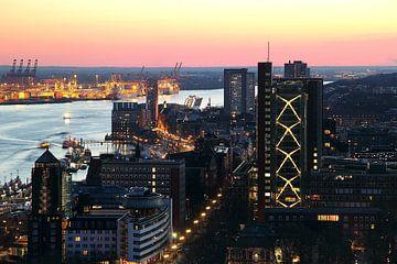 Hamburg von oben sur Patrick Lohmüller