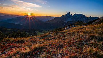 Sonnenuntergang am Sulzenschneid von Jens Sessler