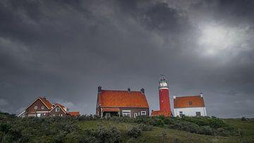 Texeler Leuchtturm von Klaas Fidom