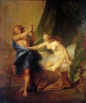 Jozef en de vrouw van Potifar, Nicolas Bertin