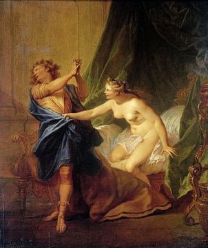 Joseph und die Frau des Potifar, Nicolas Bertin