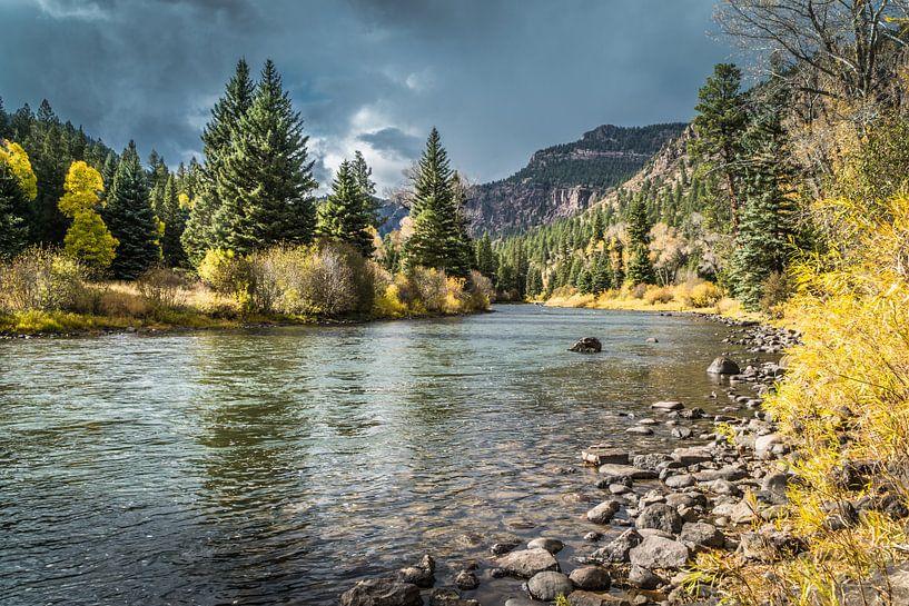 De Rio Grande in Colorado van Marja Spiering