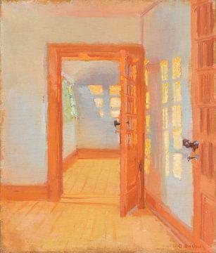 Inneres. Brøndums Anhang, Anna Ancher