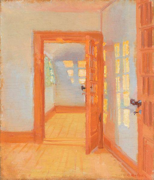 Inneres. Brøndums Anhang, Anna Ancher von Meesterlijcke Meesters