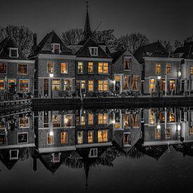 Op een mooie november avond.... van Peter Korevaar