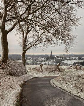 Sint-Martinuskerk Vijlen in de sneeuw
