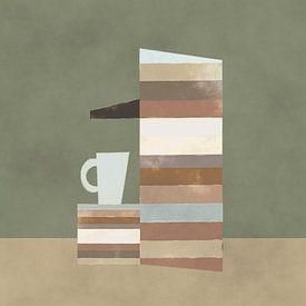 Kopje koffie zo uit de machine van Joost Hogervorst