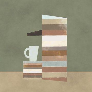 Kopje koffie zo uit de machine