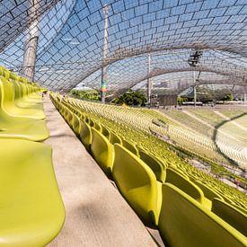Olympiastadion, Munich. (Tribune) sur John Verbruggen