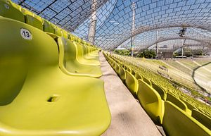 Olympiastadion, München. (Zittribune) van
