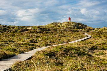 Leuchtturm in Norddorf auf der Insel Amrum sur Rico Ködder