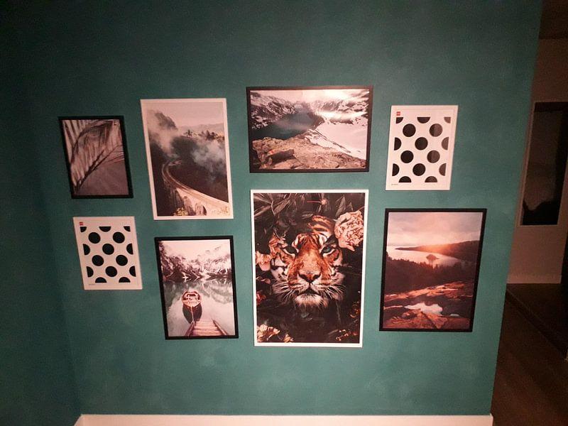 Klantfoto: Besseggen (Jotunheimen, Noorwegen) van Martijn Smeets, op fotoprint