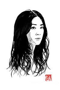 chinesische Frau von Péchane Sumie